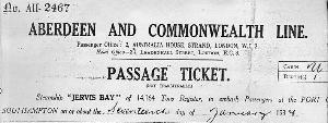 Passage Ticket