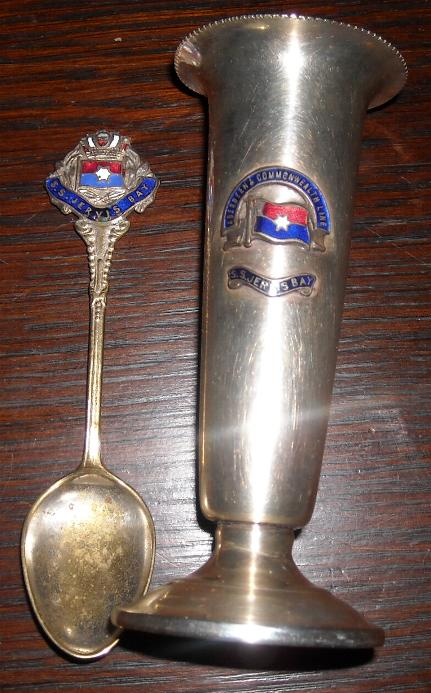 Spoon and goblet