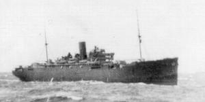 HMS Jervis Bay in Convoy HX72 - Click to Enlarge