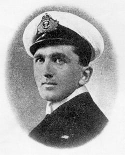 Capt. Edward Stephen Fogarty Fegen, V.C. - Click to Enlarge