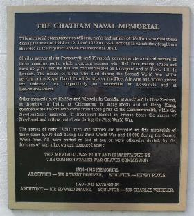 Gate plaque